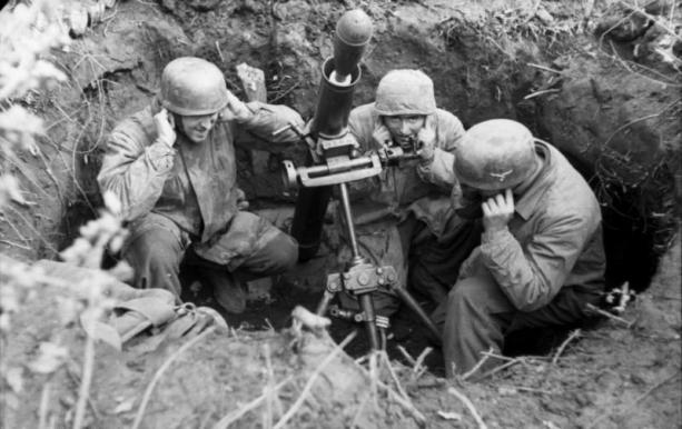 Paracadutisti tedeschi a Mopntecassino