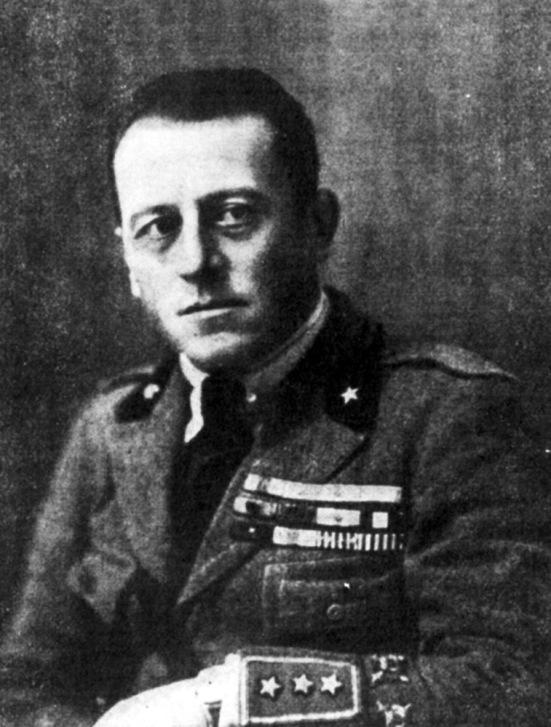 Alberto Bassi, il fondatore degli Arditi e ideatore delle loro tecniche di combattimento