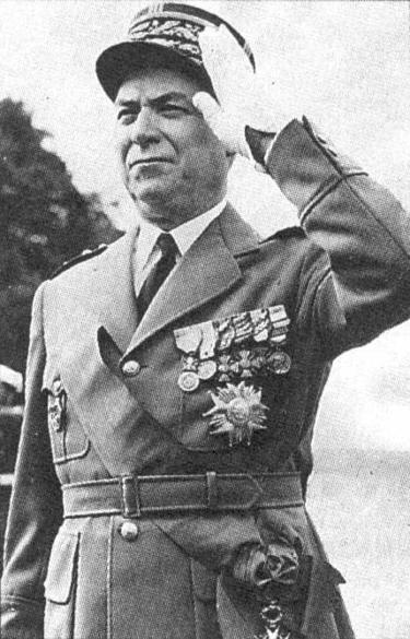 Il generale Alphonse Juin