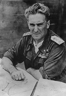 Il Maresciallo d'Italia Rodolfo Graziani in Africa