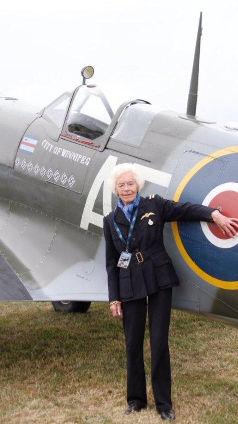 Mary Ellis una delle ultime donne pilota della RAF