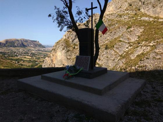 Memoriale a Sergio Barbadoro, Portella della Paglia, 22 luglio 2016.
