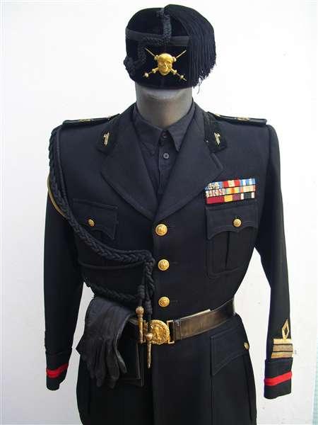 Moschettieri del Duce uniforme invernale