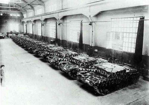 Schieramento di M43 in attesa di essere consegnati