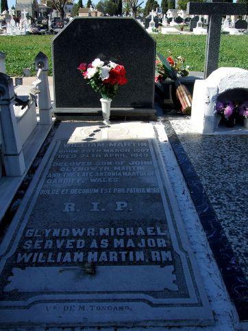 Tomba di «William Martin» a Huelva
