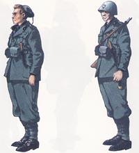 UNIFORMI DELLA 301° LEGIONE CC.NN. Italia 1941