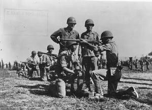 Addestramento della Força Expedicionária Brasileira