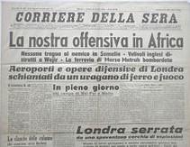 Corriere della Sera del 17 agosto 1940