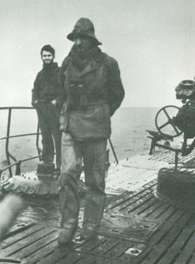 Fecia di Cossato sul Tazzoli durante la navigazione