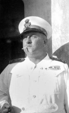 Il colonnello Mazzucchetti comandnate di Danane