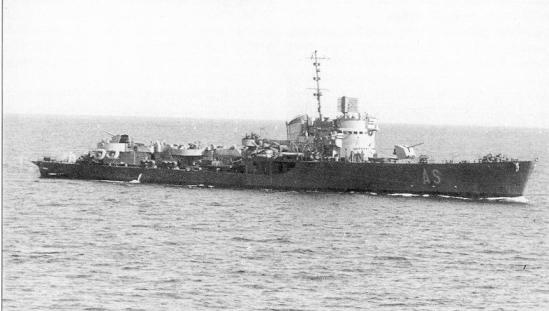La torpediniera Aliseo