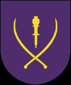 """Simbolo del XV. SS-Kosaken Kavallerie Korps """"Kosakken""""."""