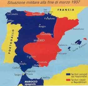 Situazione militare alla fine di marzo