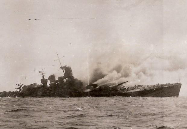 Affondamento del Roma il 9 settembre 1943