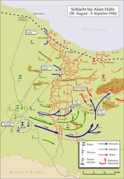 Cartina operazioni