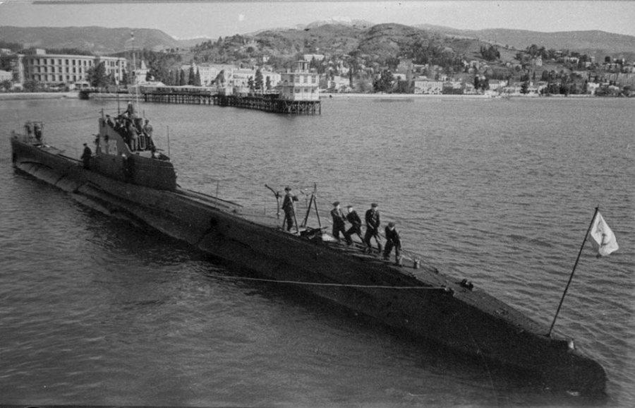 Il sommergibile sovietico ShCH-203 Kambala affondato dal CB-4 il 26 Agosto 1943