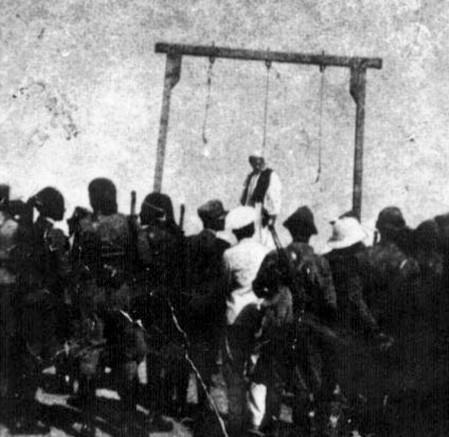 L'impiccagione di ʿOmar al-Mukhtār.