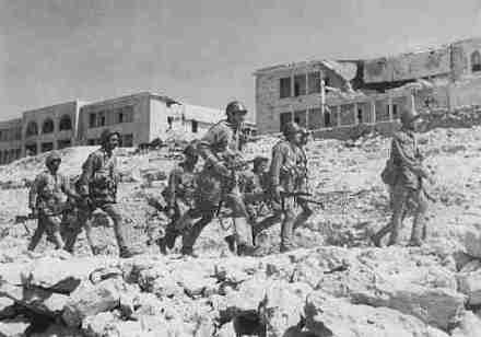 Militari del Battaglione San Marco