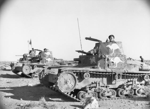 Carri armati M11 39 catturati e riutilizzati dall'esercito australian