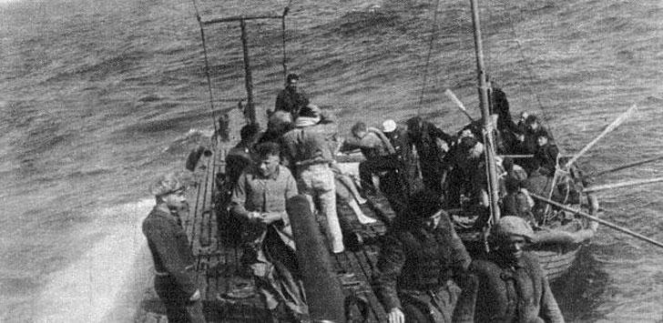 Il salvataggio dei naufraghi del Kabalo