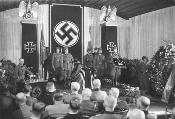 Trauerfeier für Erwin Rommel, Ulm