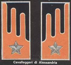 Le Mostrine dei Cavalleggeri di Alessandria