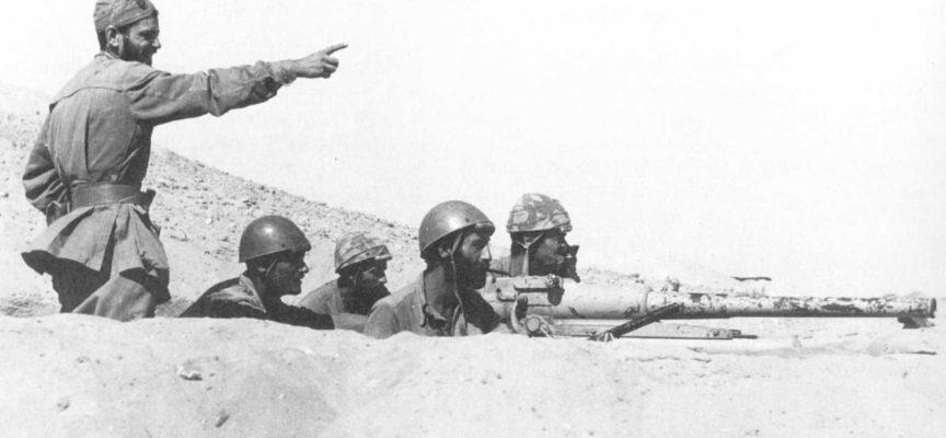 Postazione Folgore a El Alamein