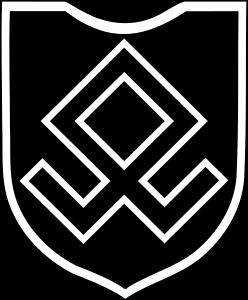 Simbolo della 7^ Divisione da Montagna delle SS Prinz Euzen
