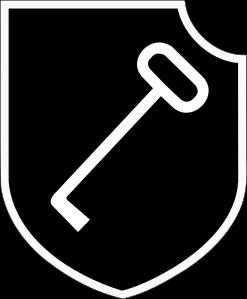 Simbolo della 1^ Panzer-Division Leibstandarte SS Adolf Hitler