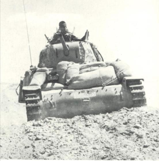 Una bella immagine di un M 1340 impegnato in Africa settentrionale