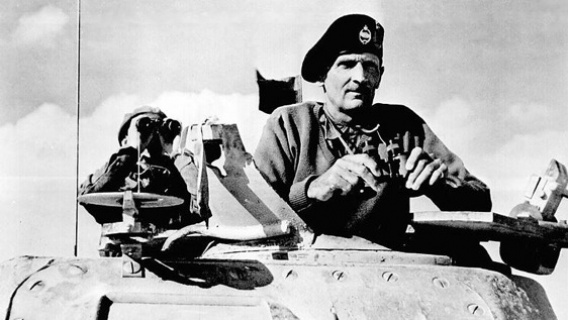 Il feldmaresciallo Bernard Montgomery