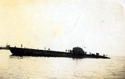 Il sommergibile francese Phoque, catturato dalla Marina Italiana e ribattezzato FR 111