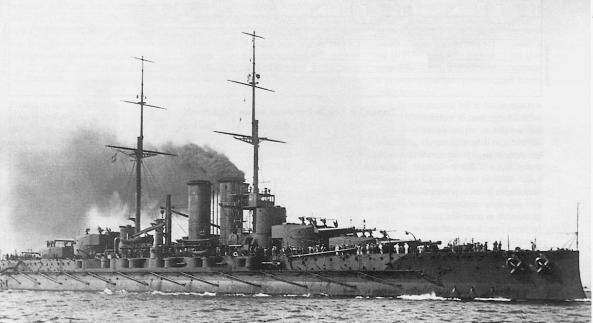 SMS Viribus Unitis in 1912.