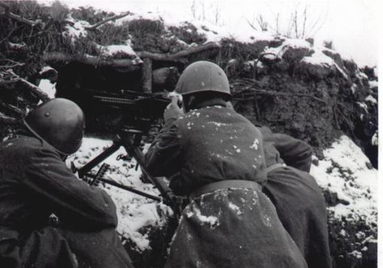 Camicie Nere durante la battaglia di Natale 1941