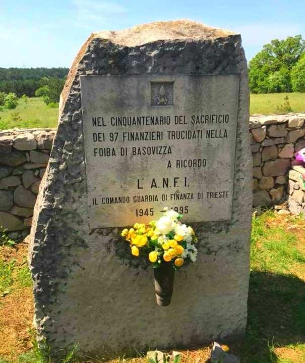 Finanzieri uccisi 1 maggio 1945