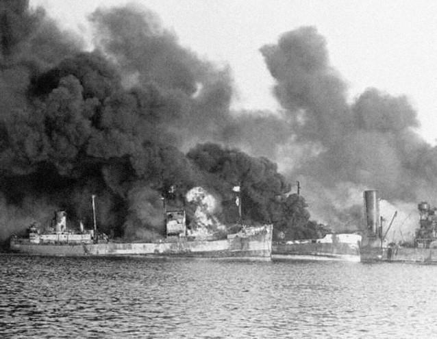 Bombardamento di Bari 2 dicembre 1943 (2)