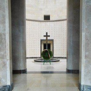 Interno del Sacrario di Oslavia