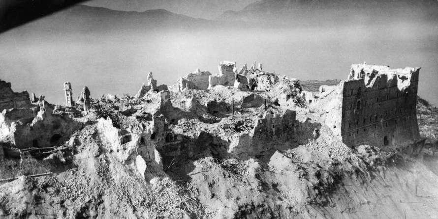 Bombardamento di Cassino 2