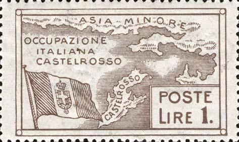 Francobollo Occupazione di Castelrosso