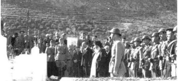 I funerali dei militari italiani caduti a Castelrosso