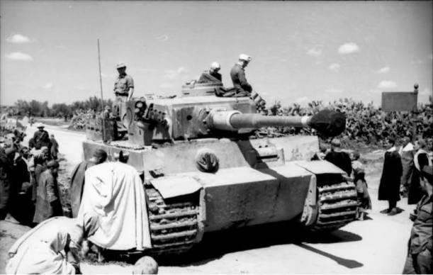 Panzer VI Tiger in Tunisia