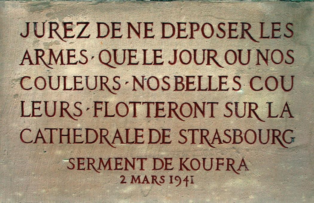Giuramento francese di Cufra.JPG