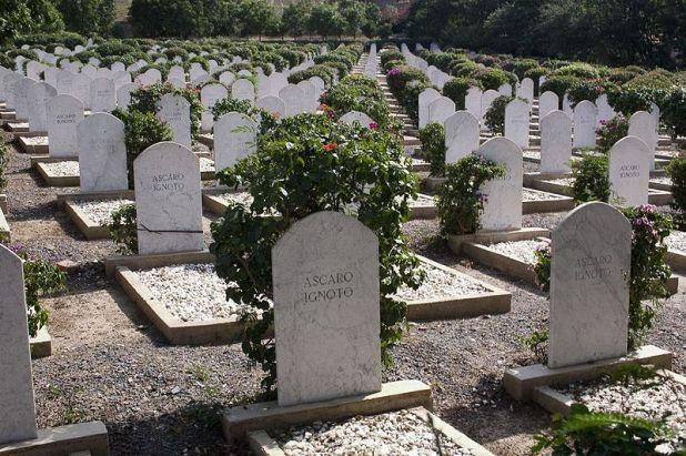 Il cimitero italiano di Cheren