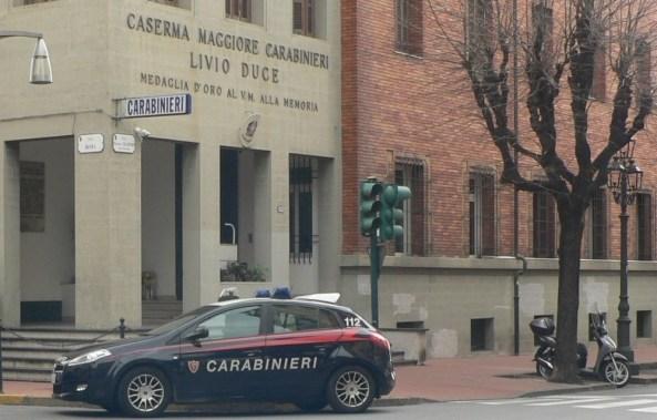 la caserma della Compagnia Carabinieri  di  Ventimiglia  (IM)  intitolata alla memoria del Magg. Livio Duce.jpg
