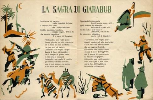 La sagra di Giarabub il testo