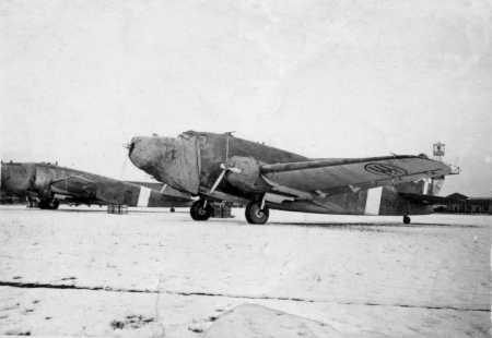 S.M.82 Marsupiale della 606^ Squadriglia, CXLVIII Gruppo Trasporti