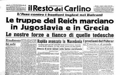 Giornale del 7 aprile 1941