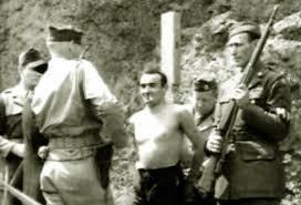 Italo Palese davanti al plotone di esecuzione