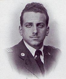Il sottotenente Valerio Stefanini