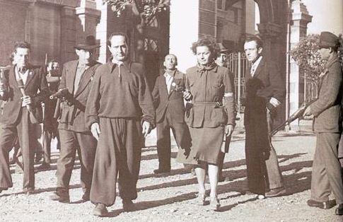 Starace catturato dai partigiani